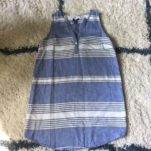 Gap Linen and Cotton Chambray Dress, Size Small